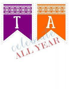 fiesta printable banner