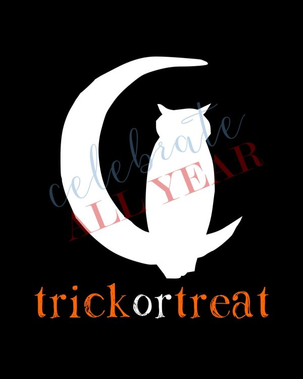 halloween cat printable sign