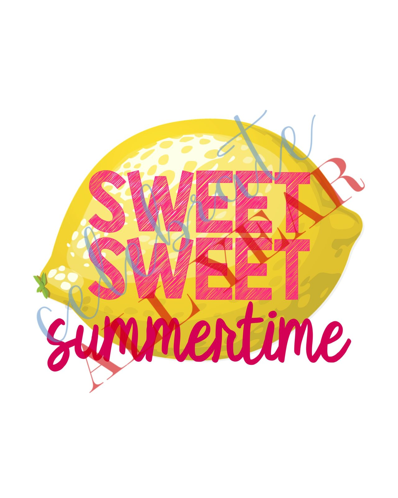 photo regarding Have a Sweet Summer Printable referred to as Lovable Summer time Printable Lemon Decor