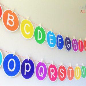 printable alphabet banner
