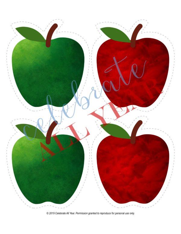 blank apples