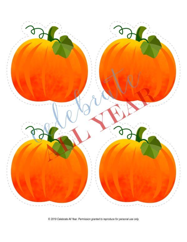 Pumpkins blank
