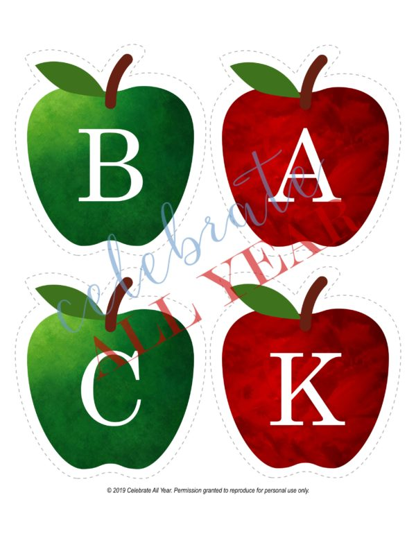 Welcome Back Apple Banner