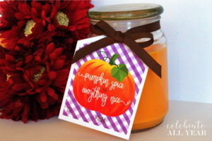 Pumpkin Spice Gift Tags