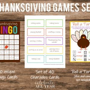 Thanksgiving Games Set