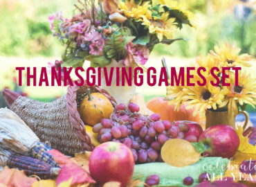 Thanksgiving Games Set