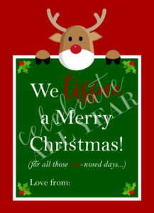 We Tissue a Merry Christmas