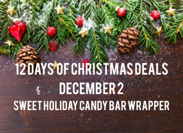 Sweet Holiday Candy Bar Wrappers