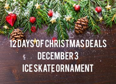 Ice Skat Ornaments