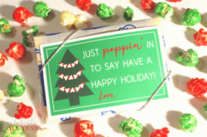 Popcorn Gift Tags