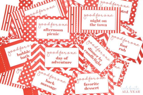 love coupon book