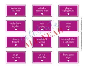 date night idea cards
