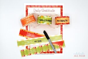 thanksgiving gratitude chain